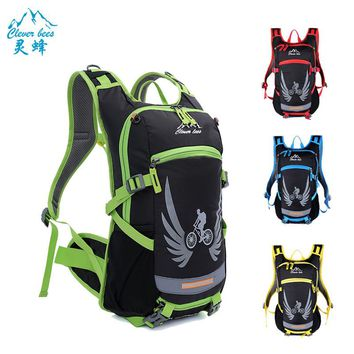 18L Bicycle Bag Waterproof Ultralight Cycling Backpack mochila ciclismo Wearproof Bike Pannier MTB Night Reflective Riding Bags