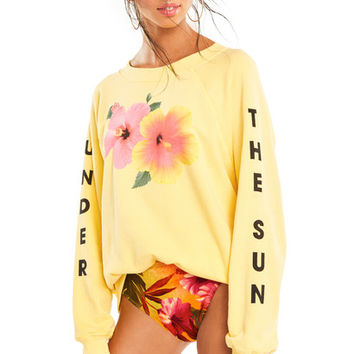 Under the Sun Sommers Sweater - Wildfox