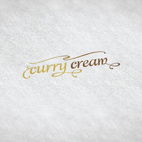 Curry Cream // Pre-made Logo Design / Etsy Set, Social Media Profile Set / One Of A Kind Logo Design / Unique Full Brand Set... and More