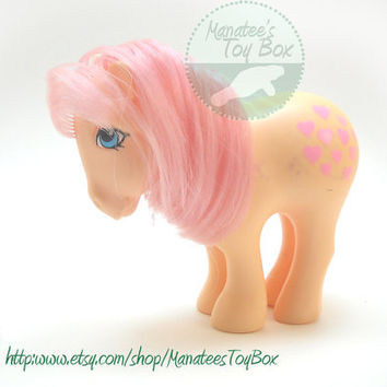 My Little Pony Peachy: Vintage 80s Toy Hasbro Custom Bait TLC