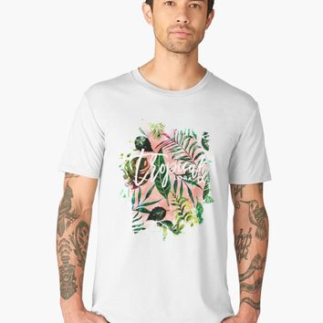 'Tropical Flora #redbubble #decor #buyart' Men's Premium T-Shirt by 83oranges