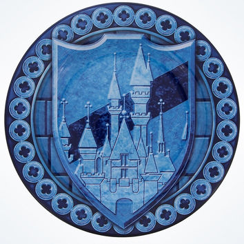 Disney Parks Cinderella Castle Dinner Plate New