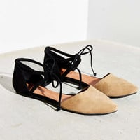 Jeffrey Campbell Enamored Cutout Flat - Urban Outfitters