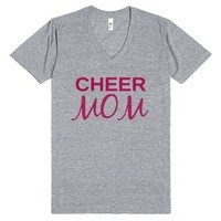 Cheer Mom - Mothers Day Gift-Unisex Athletic Grey T-Shirt