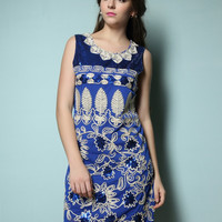 Great Gatsby Shining 1920s Embellisments Flapper Charleston Party Water Drop Shining Sequin Sleeveless Beading Dress