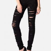 Black Kitten Distressed Jeans by BlankNYC - ShopKitson.com