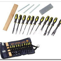 16 Piece PROFESSIONAL Wood Carving set