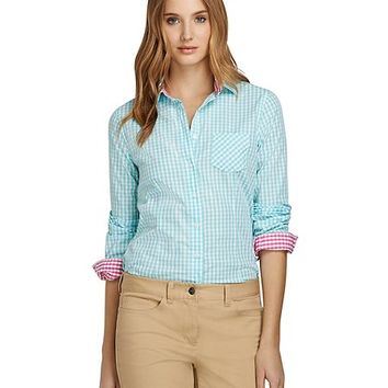 Gingham Dress Shirt - Brooks Brothers
