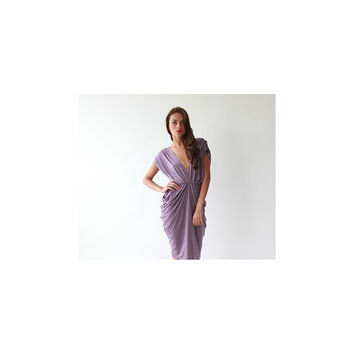 Purple dress , Sexy dress, Maxi Dress , Prom Dress, Purple maxi dress, Open back purple dress