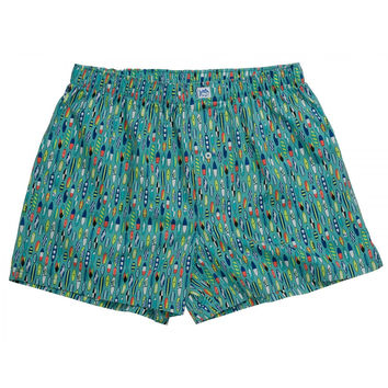 Ride the Tide Boxers in Haint Blue by Southern Tide