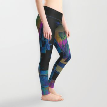 Bismuth Crystal Leggings by Ducky B