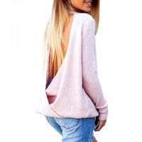 Sassy Knitted Solid Top for Women