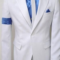 Free Shipping MICHAEL JACKSON SMOOTH CRIMINAL JACKET+ PANT+ SHIRT+TIE