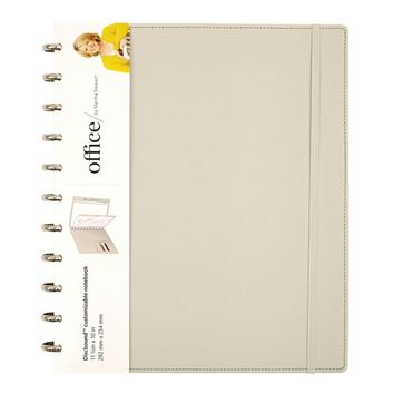 Office by Martha Stewart Discbound™ Customizable Notebook, Letter Size, Gray (44462) | Staples