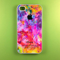 Colorful Apple Iphone 4 Case, Iphone 4s Case, Iphone Case