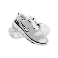Nike Youth Free 5.0V2 PS (white/gray/navy) Sz 1.5 Y Us