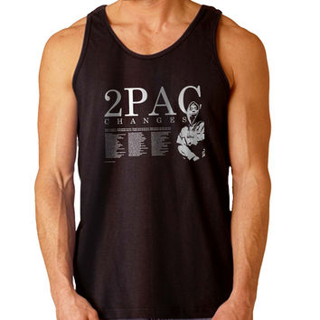 2pac changes For Mens Tank Top and Womens Tank Top *