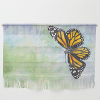Monarch Butterfly Wall Hanging by savousepate