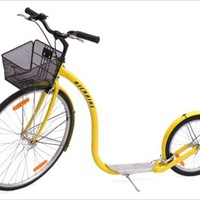 Yellow City Cruiser Kickbike