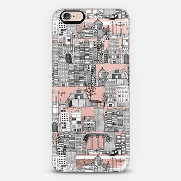 dystopian toile black white transparent iPhone 6s case by Sharon Turner   Casetify