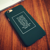 Army Green Case Cover for iPhone 5s 6 6s Plus