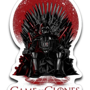 Game of Thrones Star Wars Mashup Sticker Decal