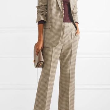 Stella McCartney - Checked wool blazer