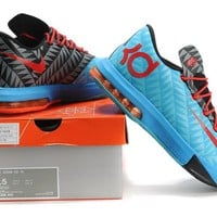 """Nike Zoom KD 6  Kevin Durant  Ⅵ """"Moon Orchid Black""""   Basketball Shoes"""