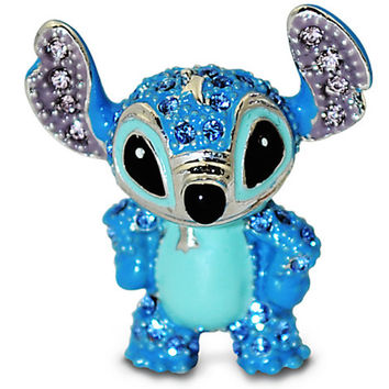Disney Parks Stitch Figurine by Arribas Swarovski Jeweled Mini New with Box