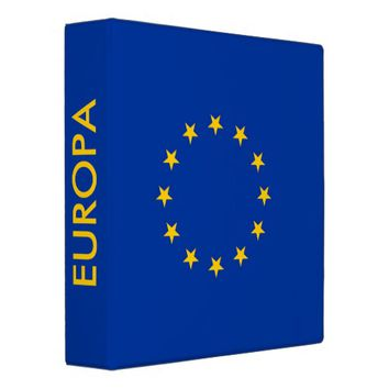 Binder with Flag of European Union