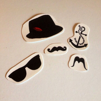 Temporary Tattoos: Hipster Pack
