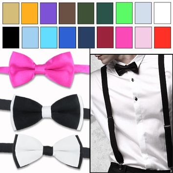 Men's Bow Ties Polyester cotton