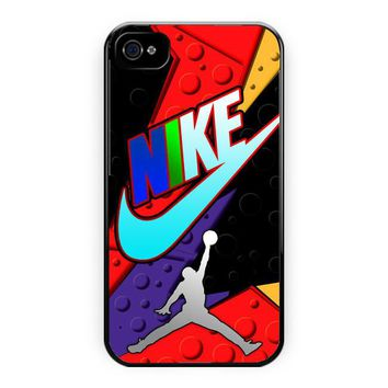 Nike Just Do It Jordan Logo iPhone 4/4S Case