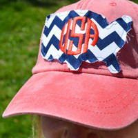 USA Monogram Baseball Hat
