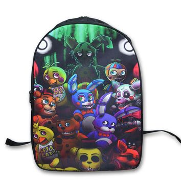 at  Printing Backpack School Bags Teens Kids Boys Girls Freddy School Bag Womens Mens Laptop Backpacks