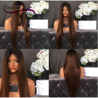 180% Lace Front Human Hair Wigs Peruvian Virgin Hair Front Lace Wigs 1b/33 Ombre Glueless Straight Full Lace Human Hair Wigs