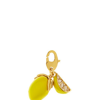 Kate Spade Lemon Charm Yellow ONE