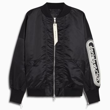dp retro bomber / black + natural