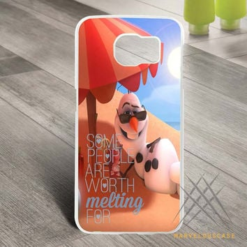 Disney Frozen Olaf Quote 2 Custom case for Samsung Galaxy
