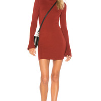 Lovers + Friends Unstoppable Dress in Red Lacquer