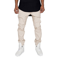 The Basic Stone Khaki Marathon Jogger Pants