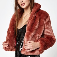 Obey Lana Fur Coat at PacSun.com