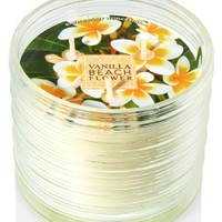 3-Wick Candle Vanilla Beach Flower