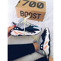 Adidas Yeezy 700 Runner Boost Classic Popular Couple Casual Running Sport Shoes 1#