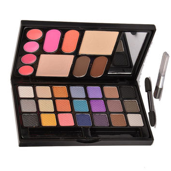 21 Color Matte & Shimmer Make-Up Set