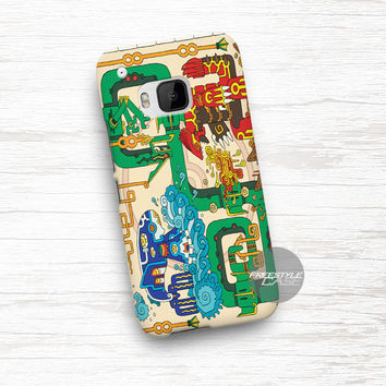 Art Work Mayan Pokemon HTC One Case Cover Series