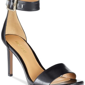 Nine West Meantobe Two-Piece Ankle Strap Sandals