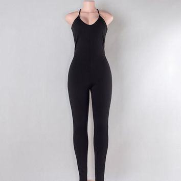 Strappy jumpsuits with thin jumpsuits