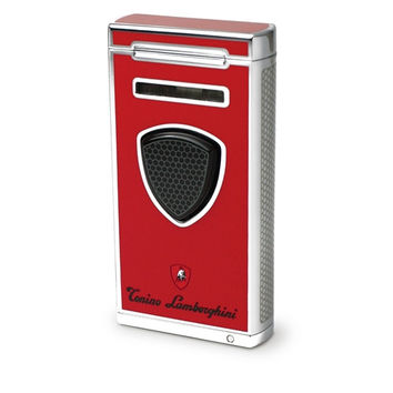 Tonino Lamborghini Pergusa Red Torch Flame Lighter