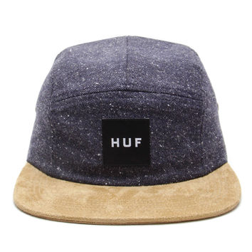 HUF - Tweed Volley 5 Panel Cap (Navy)